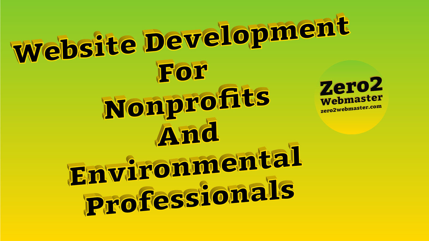 Website Development Nonprofits
