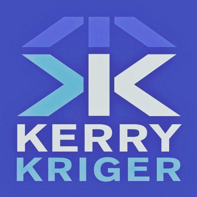 Kerry Kriger Logo Blue