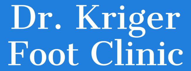 Kriger Foot Clinic Logo