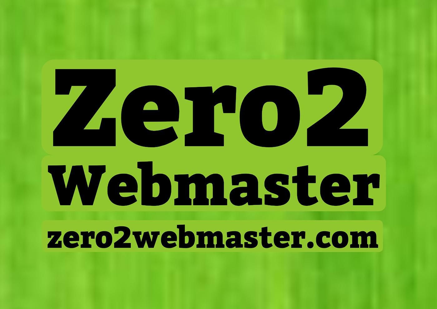 Zero2Webmaster Logo